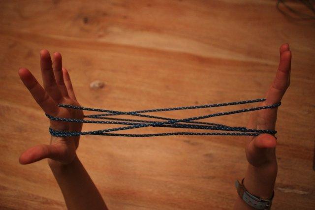 """Abnehmspiel: das """"Katzenkörbchen"""" © Weltwunderer"""