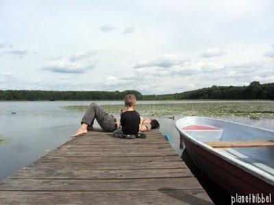 Idylle beim Familienurlaub in der Uckermark in Brandenburg © Planet Hibbel