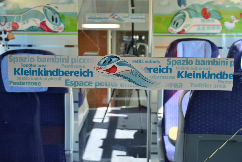 Auch neu im Intercity 2: ein schicker Kleinkindbereich © Deutsche Bahn