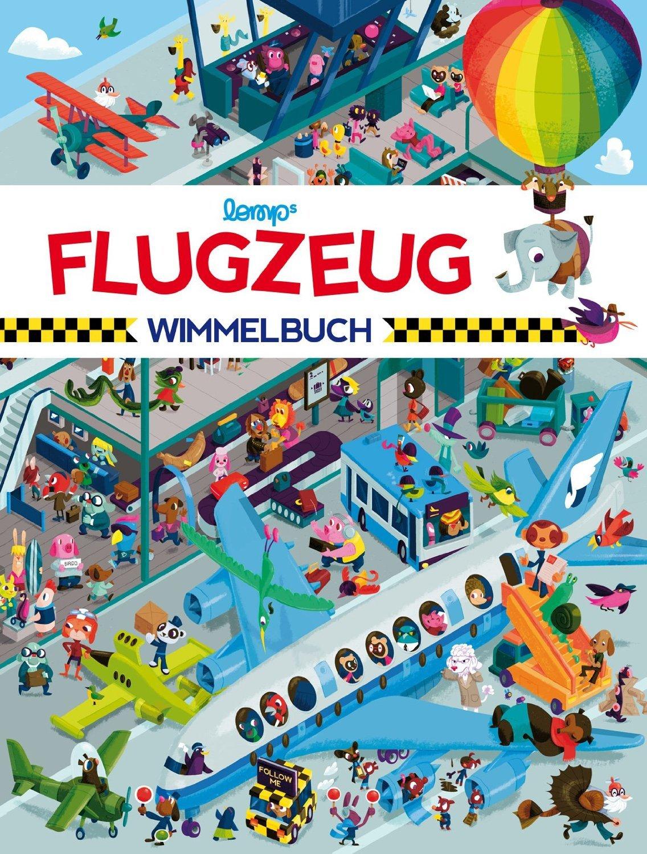 Flugzeug-Wimmelbuch mit vielen lustigen Überraschungen © Amazon.de