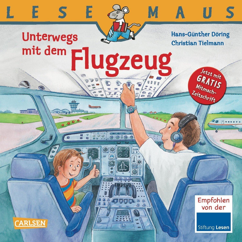 """""""Unterwegs mit dem Flugzeug"""" aus der LESEMAUS-Reihe © Amazon.de"""