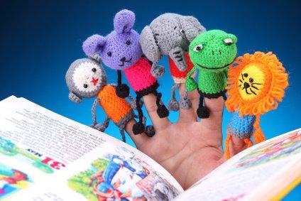 Handpuppen und Fingerpuppen bringen Babys und Kindern Spaß © 831days - Fotolia.com