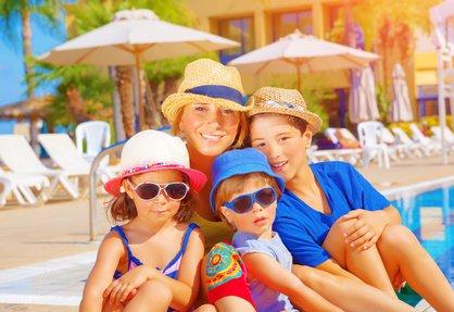 Ist die Pauschalreise für Familien geeignet? © Anna Omelchenko/Fotolia.com