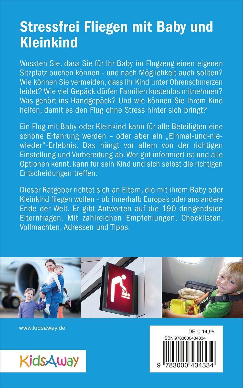 Stressfrei Fliegen mit Baby und Kleinkind © KidsAway.de