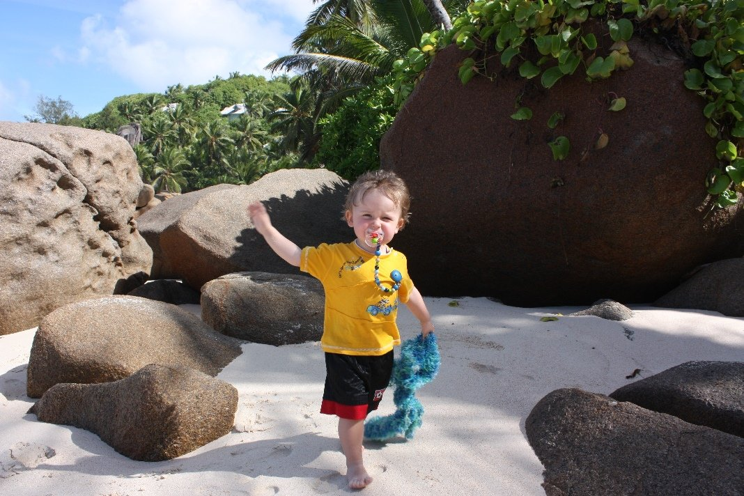 Die Seychellen sind auch ein Paradies für Kinder © www.flind.de