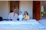 Die relaxte Gewinnerfamilie © Uwii