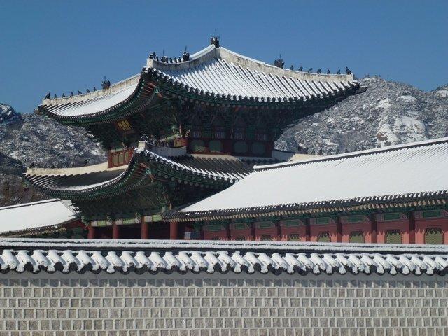 Eines unserer tollsten Reiseziele: Seoul. Hier der Gyeongbokgung-Palast © Maria-Bettina Eich