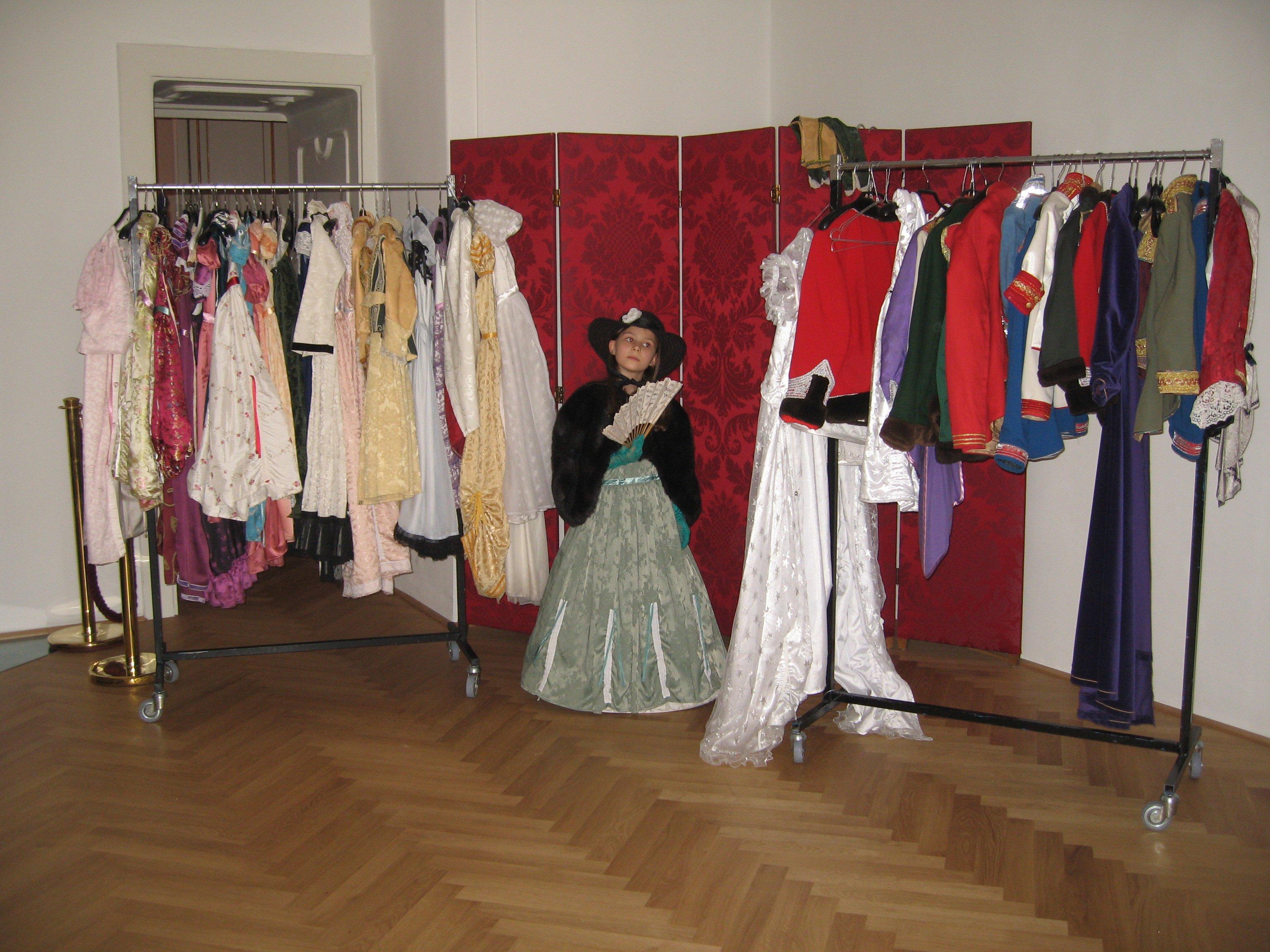 Hofburg: Verkleiden im Sisi-Stil © MariaBettina