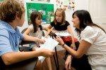 Die Kinder lernen viel dazu in der Sprachschule © Frances King