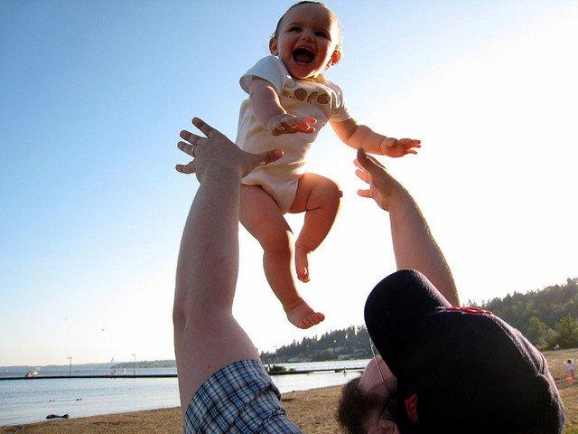 Von einer Weltreise hat die ganze Familie etwas - versprochen! © Flickr/Kris