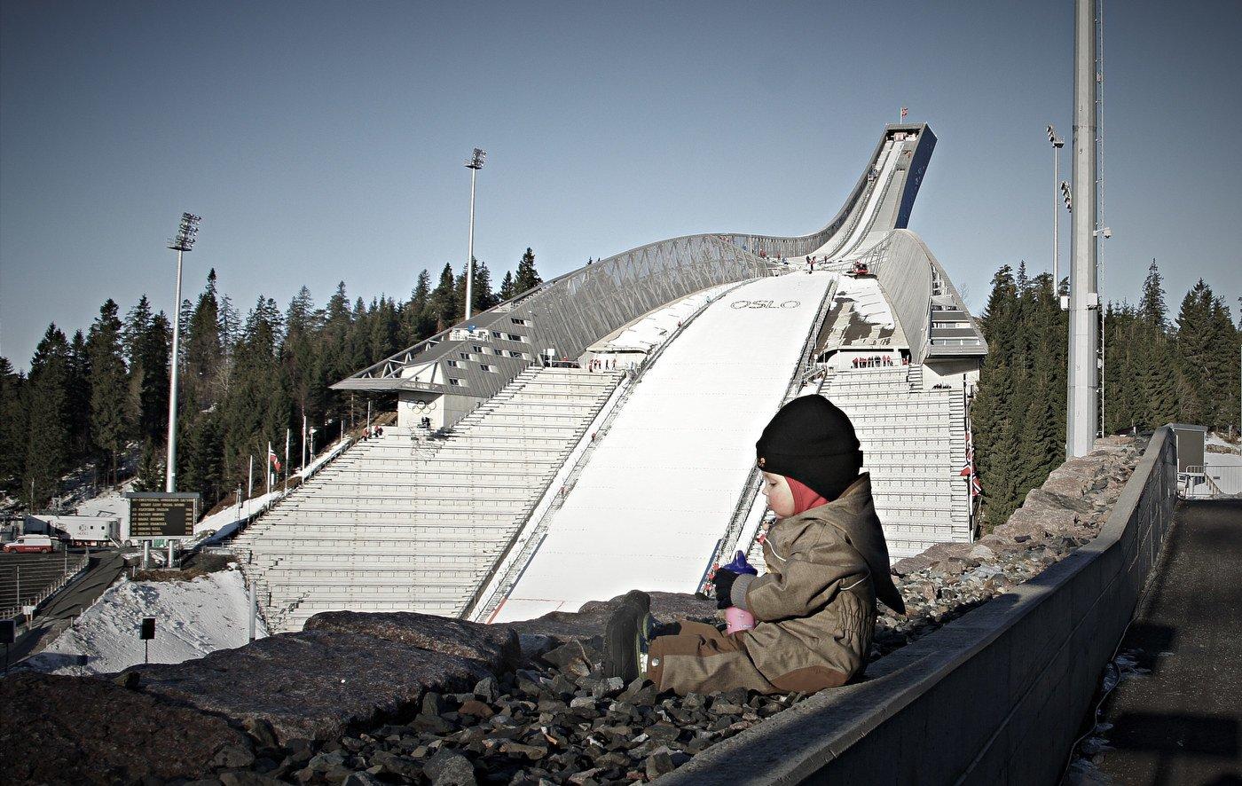 Am Holmenkollen in Oslo © actuallylove