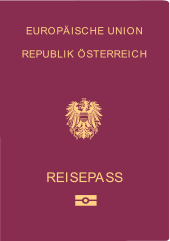 Einen österreichischen Reisepass bekommt man auch innerhalb eines Tages.  © Rep. Österreich - gemeinfrei