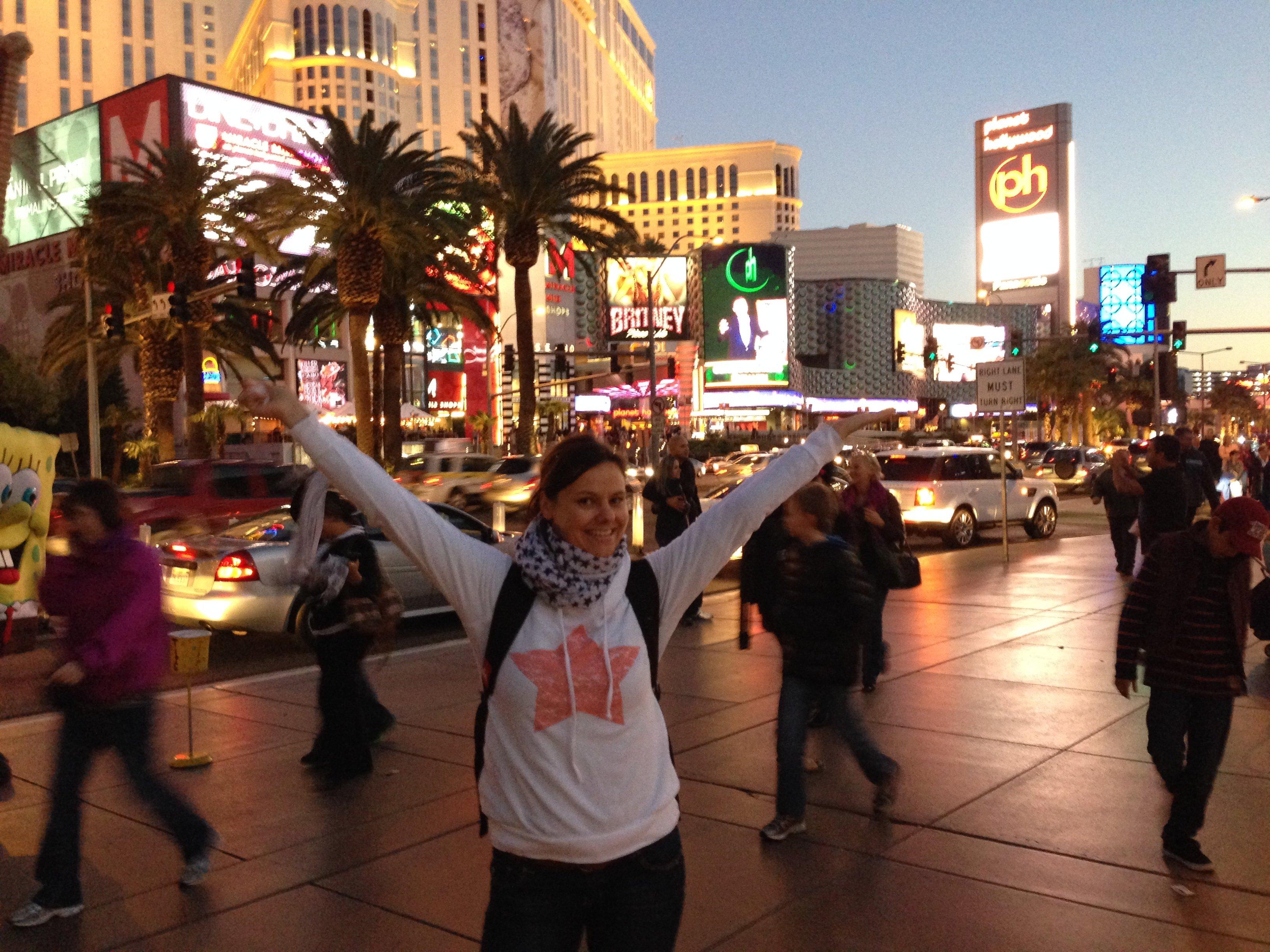 Las Vegas, we are coming! © Dajana Niepraschk