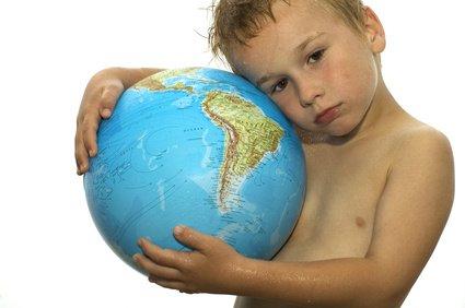 Kleine Kinder sind bei einer hohen Ozonkonzentration sehr gefährdet © Marcel Mooij - Fotolia.com