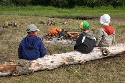 Ein Pfadfinderlager ohne Lagerfeuer - undenkbar © Piotr Przeszlo - Fotolia.com