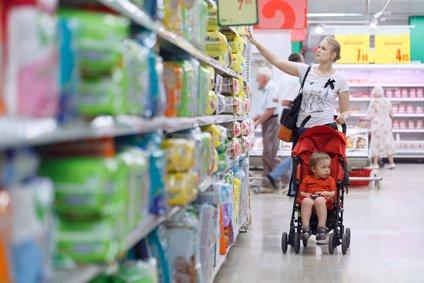 Windeln & Co. finden sich in jedem Supermarkt der Welt © danr13 - Fotolia.com