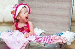 Platz sollte die Wickeltasche bieten - aber das Baby muss nicht hineinpassen