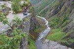 Hoch über dem Vöringsfossen © Weltwunderer