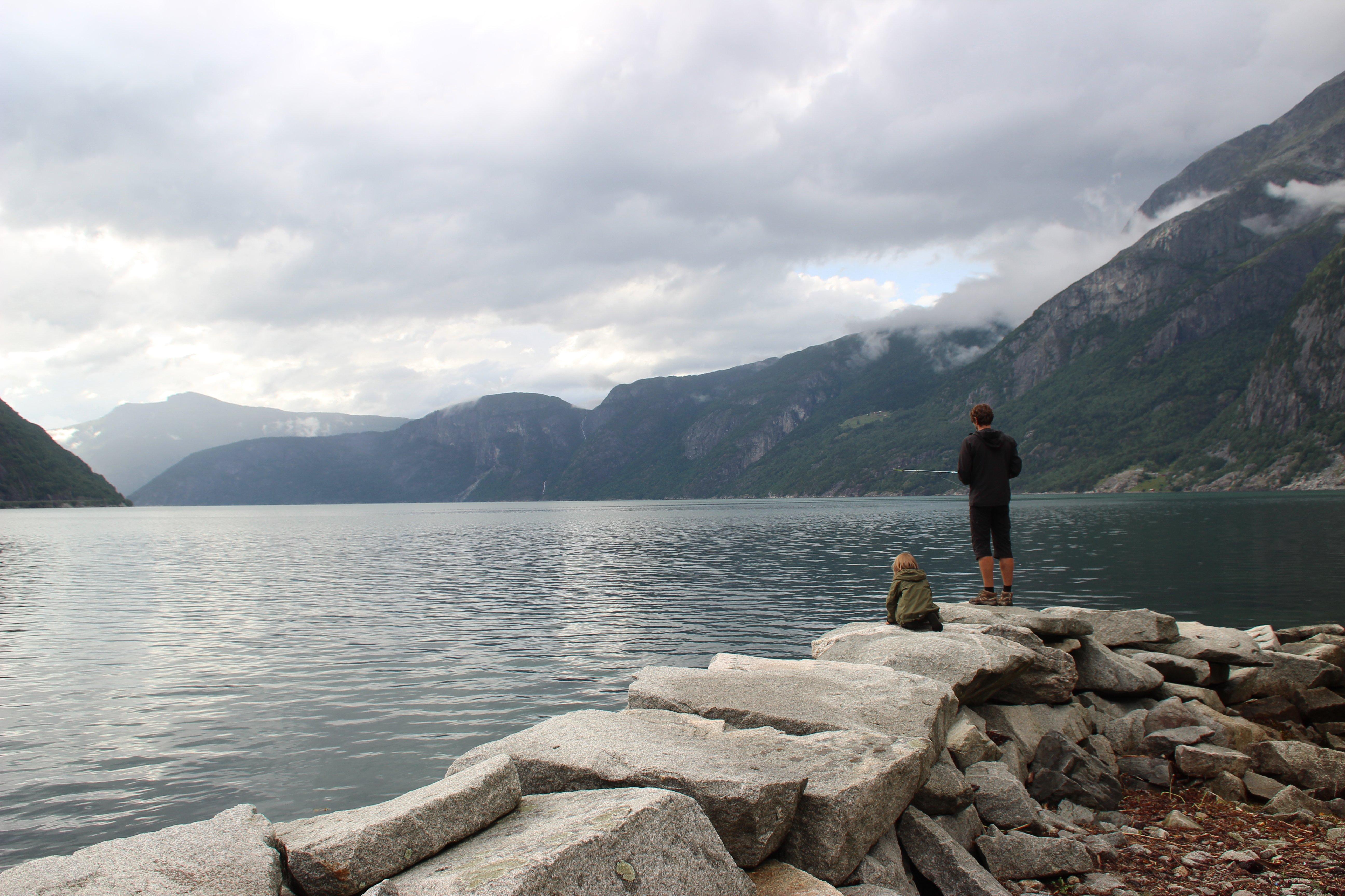 Angelversuch Nummer xx in Eidfjord