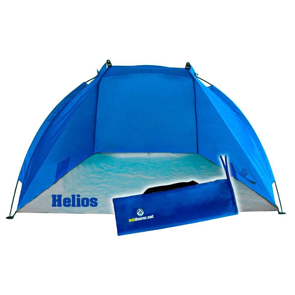 Die Reise Strandmuschel Helios für optimalen Sonnenschutz unterwegs © outdoorer
