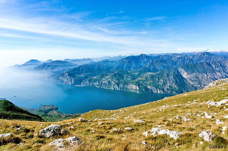Der wunderschöne Gardasee © Cuchikind