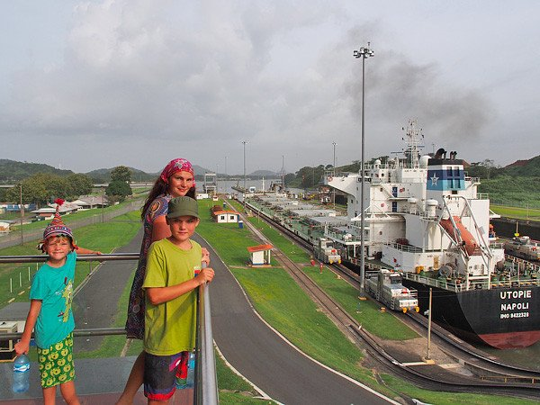 Der berühmte Panama-Kanal © Lars Lilienthal