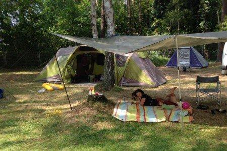 Camping-Idylle mit Baby © Weltwunderer