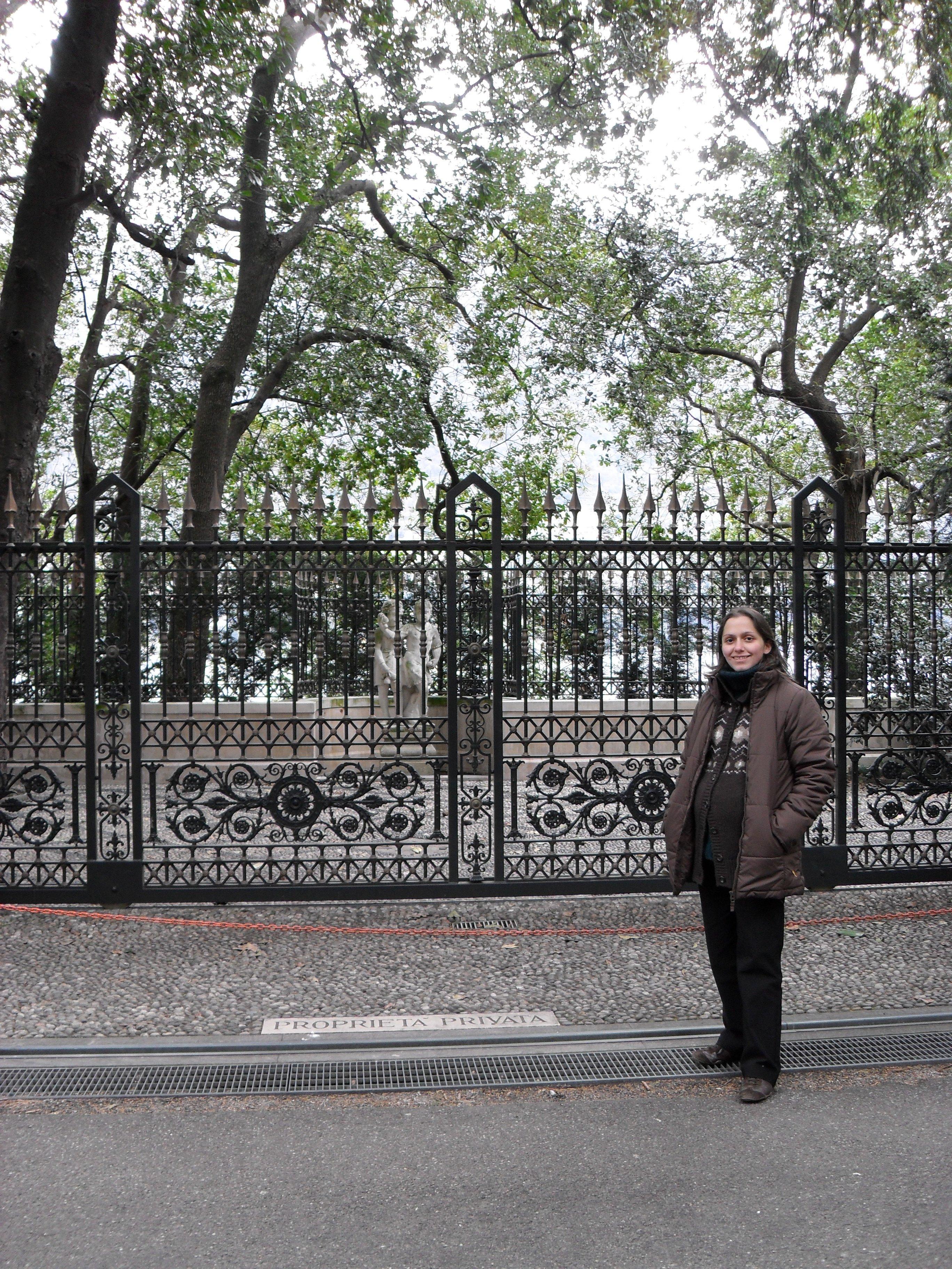 George Clooney Besuch © missbubi