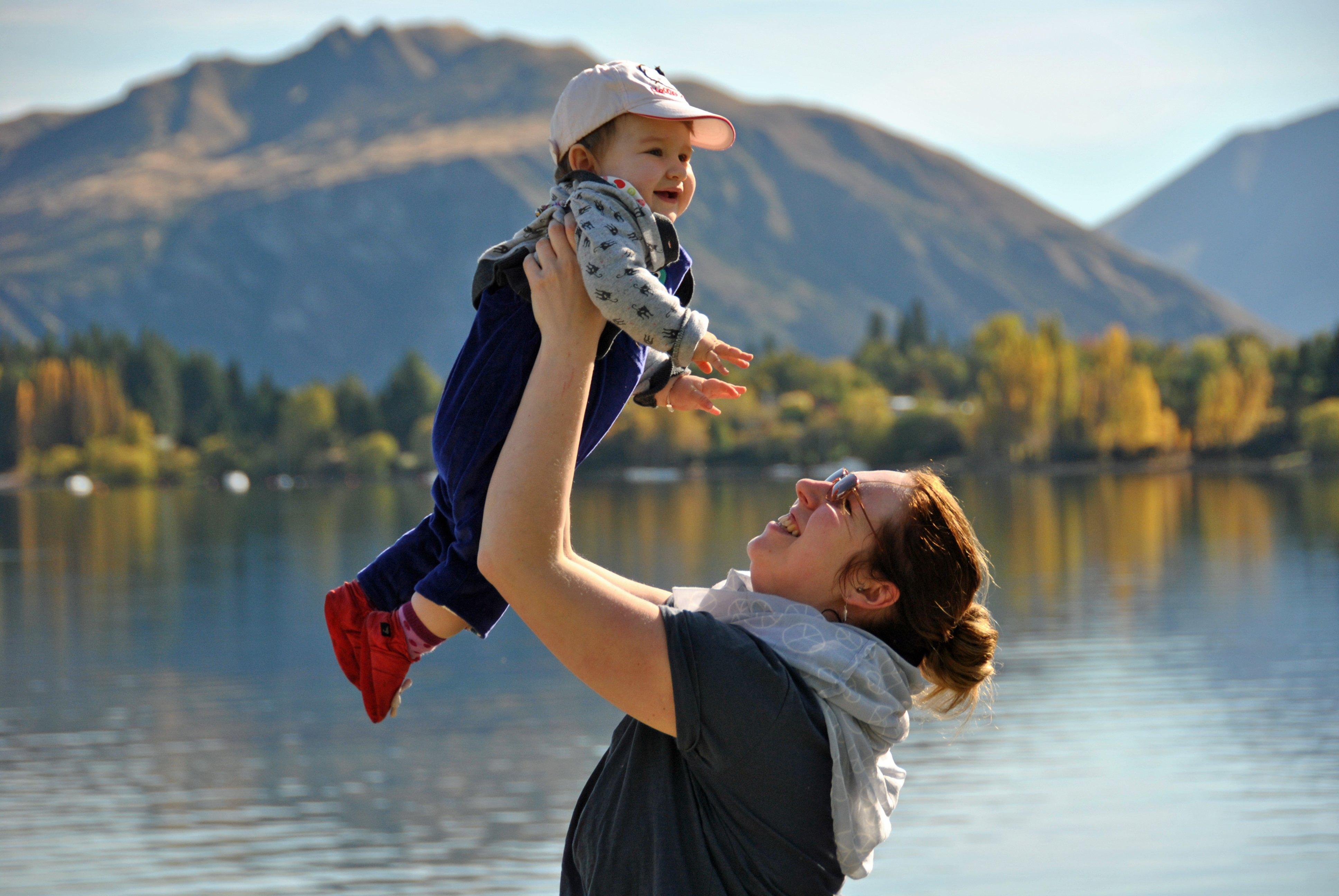 Neuseeland mit Baby © Moana