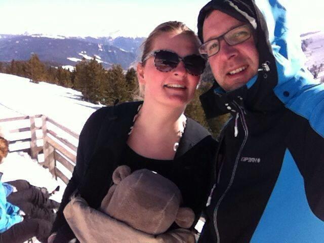 ...mit unserem Teddy auf 2100m Höhe... © fk2904