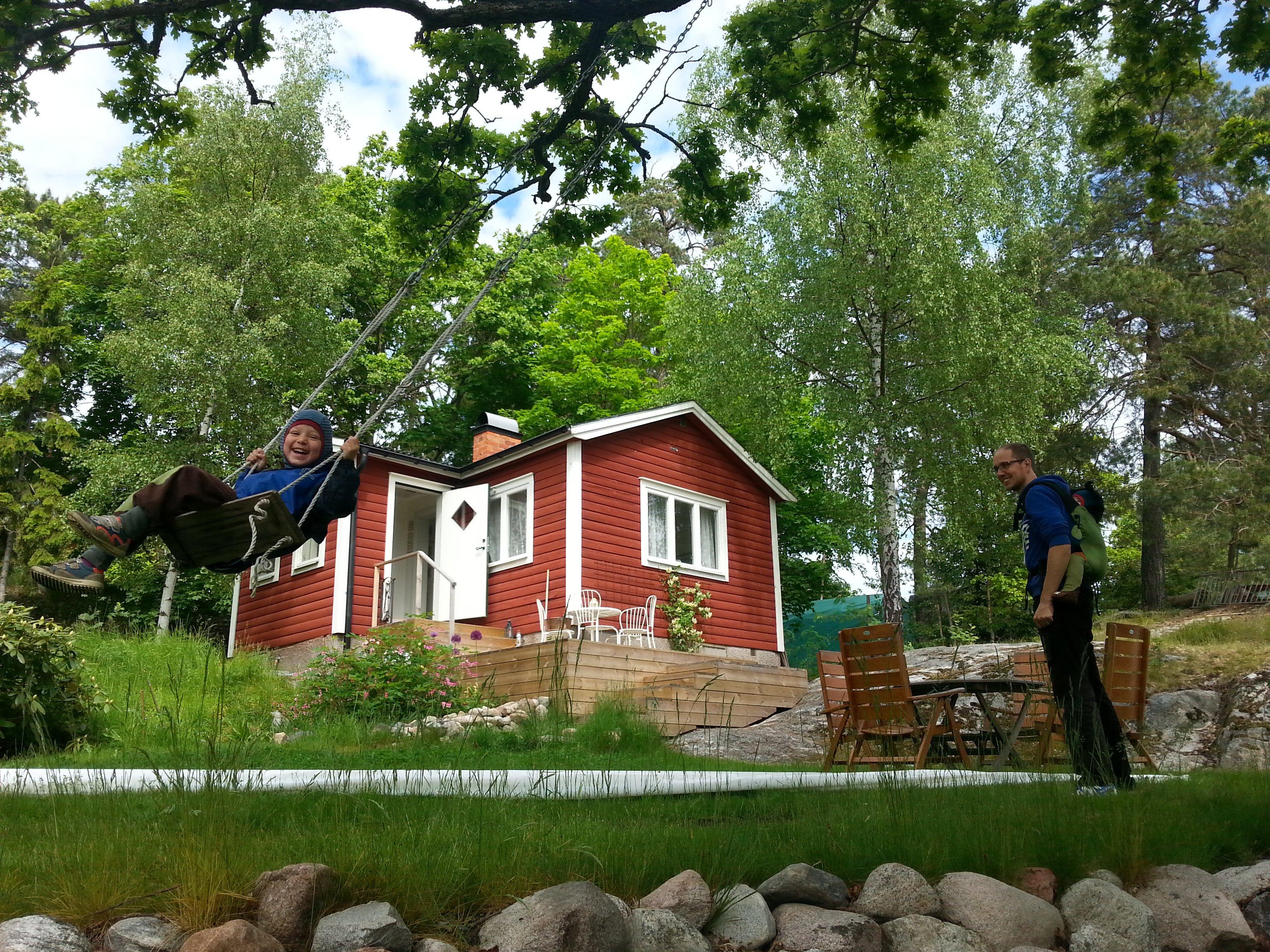 Ferienhaus-Spaß in Schweden © aroundtheworld