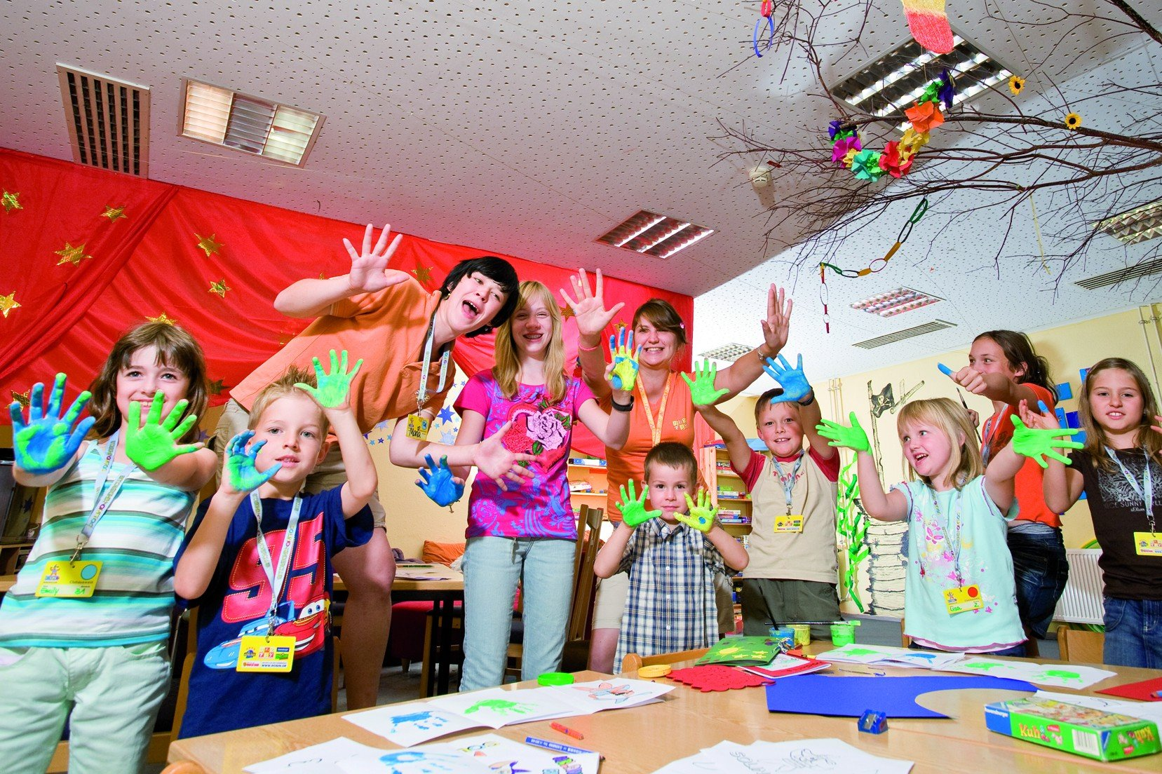 Sonnenwolfi-Kinderklub im Bayerischen Hof © Sonnenhotels