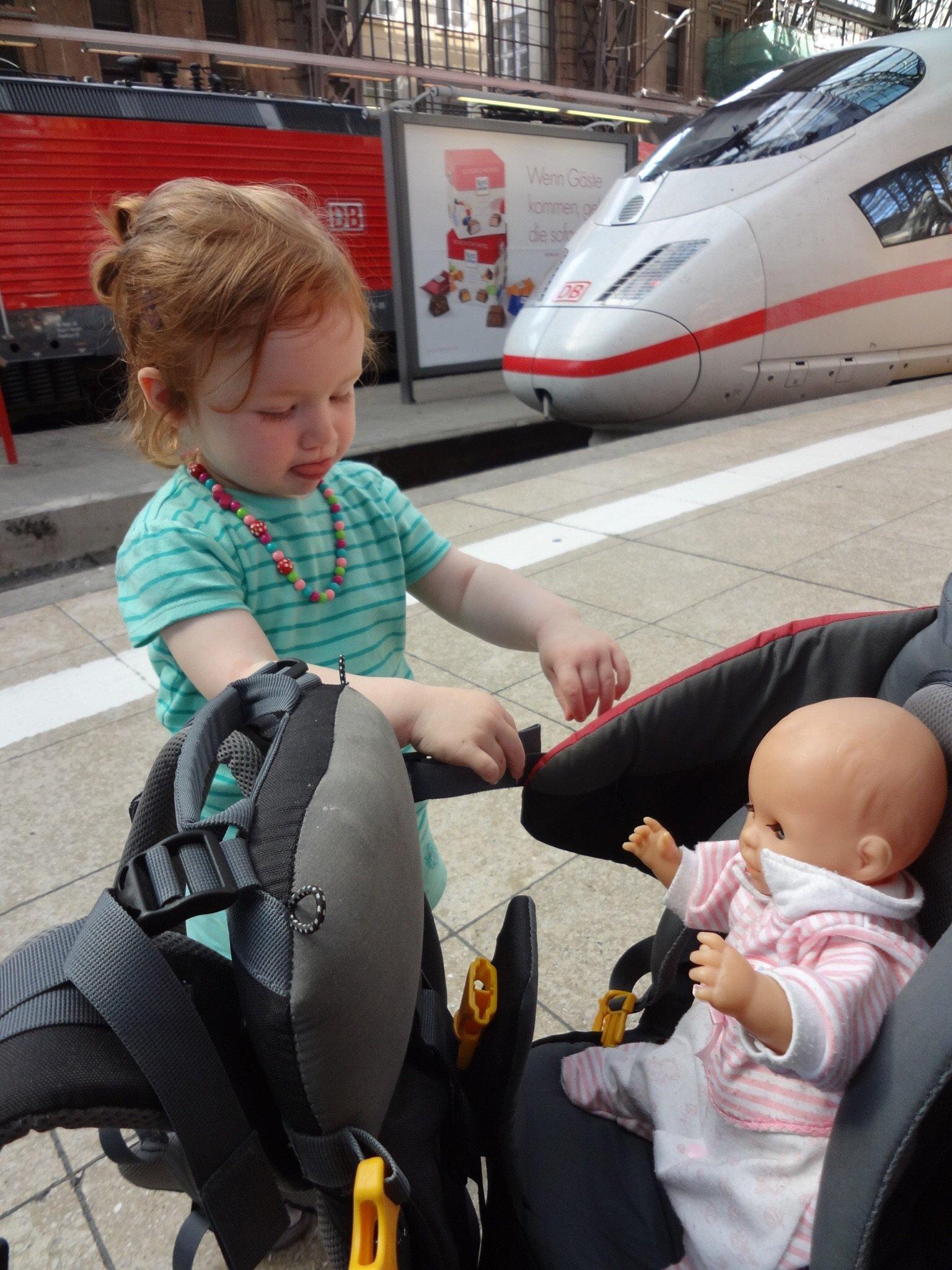 Auch die Puppi muss mit © Chriiischdl