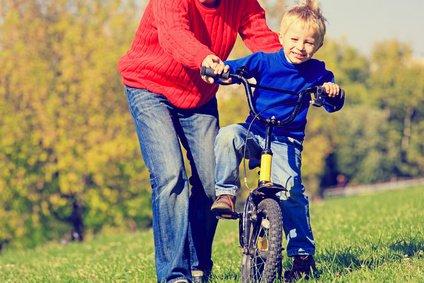 Aller Anfang auf dem Fahrrad ist schwer © nadezhda1906 - Fotolia.com