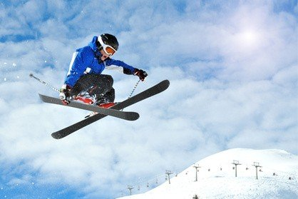 Wintersport macht Kindern Spaß, aber jedes Jahr eine neue Ausrüstung ist teuer © Fotolia.com