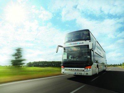 Fernbusse bringen Reisende durch ganz Europa © BerlinLinienBus