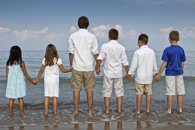 Allein unterwegs mit mehreren Kindern - eine Herausforderung © Flickr/Redcorn Studios [Matt]