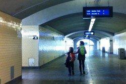Unterwegs mit der Bahn - ein Kinderspiel