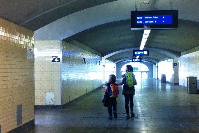 Unterwegs mit der Bahn - ein Kinderspiel © Jenny Menzel