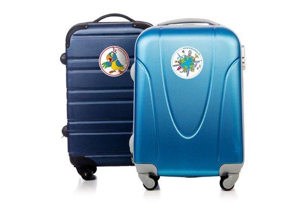 Wir schenken euch diese hübschen Koffer-Aufkleber! © elnur - Fotolia.com