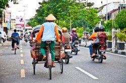 Straßenverkehr in Indonesien - so ganz anders als in Deutschland
