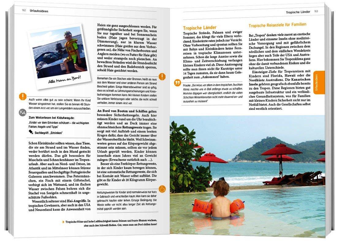 Eine Seite aus dem Reisehandbuch - mit Leserfoto! © KidsAway.de