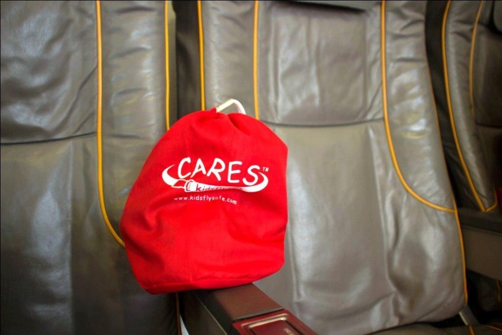 Der CARES-Gurt ist eine super Alternative zum Kindersitz © Weltwunderer