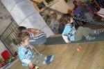 unsere Buben in einem der Spielezimmer © Zwillingsmama777