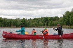 Eine Bootsfahrt mit Kindern, die ist lustig ...