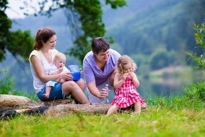 Auch mit Schreibaby ist Familienurlaub möglich! © famveldman - Fotolia.com