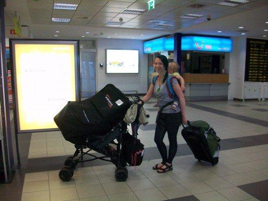 Mein Alleinflug mit Baby