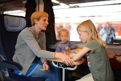 Auch im Zug heißt es aufmerksam sein, um Gefahren vorzubeugen © lunaundmo - Fotolia.com
