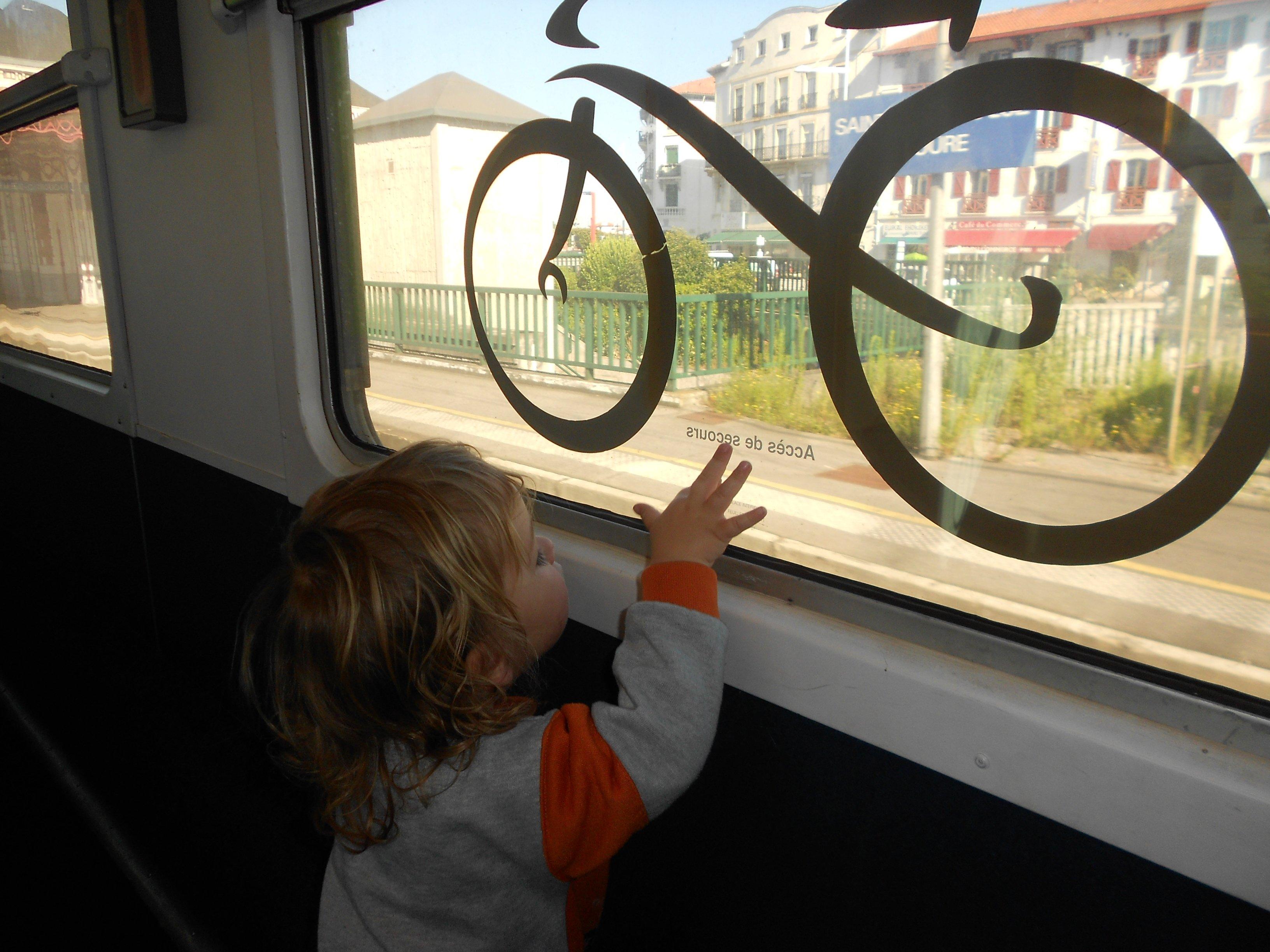 Mit Kind unterwegs per InterRail - nicht die einfachste Sache © Stephanie / www.freileben.net