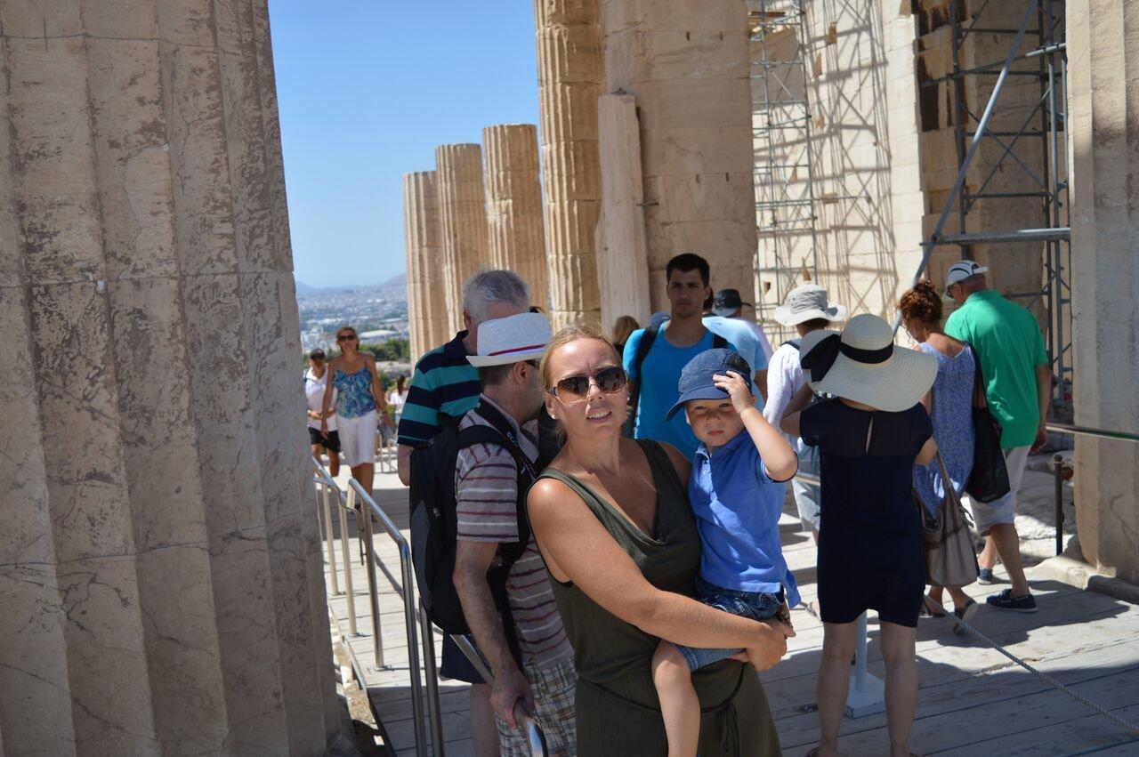 Touristenmassen an der Akropolis © travelfamily.de